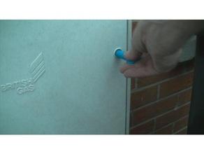 meter cupboard key triangle long household key triangle long meter cupboard key triangle key deep ulitity meter key
