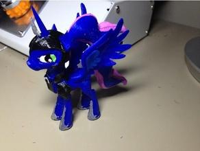 luna armor mlp pony remixed toys & games mlp mlp pony model my little pony pony