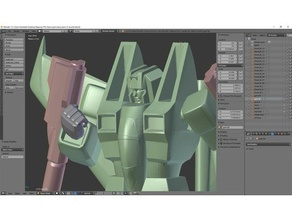 di starscream v01r sculture