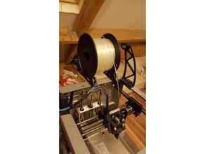 framemount spool holder solidoodle 2 3 3d printer parts mecreator2 me creator solidoodle solidoodle 2 solidoodle 3 solidoodle mods spool holder