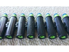 foam dart belt shell 3d printing ammo ammo belt ammo shell dart dartstorm dartzone dart belt dart storm dart zone foam dart nerf nerf belt nerf blaster nerf gun nerf shell shell