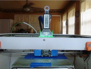 bibo2 accuremote depth gauge holder 3d printer accessories accuremote bed leveling bibo2 bibo2 touch depth gauge gauge mount