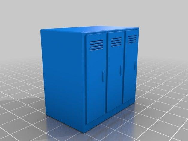 miniature lockers lobotom