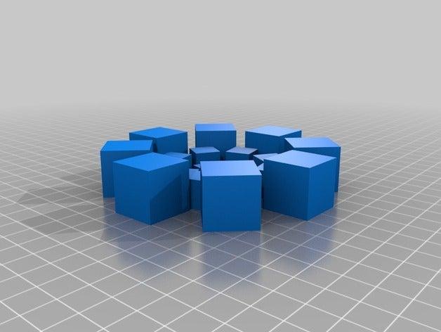 cube spiral fractal math