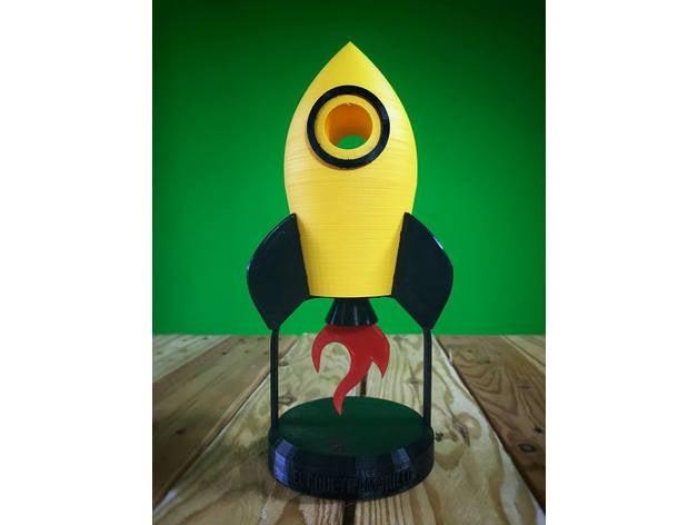 yellow rocket el cohete a