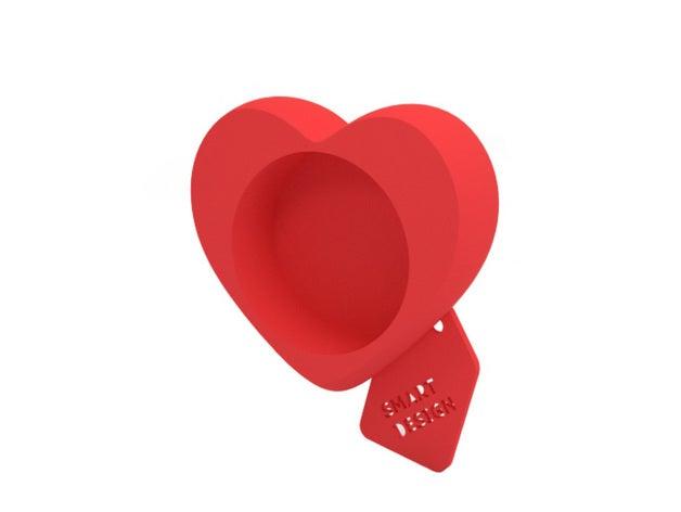 tealight holder - heart d