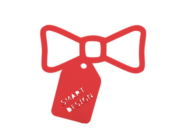 pendant - bow jewelry 3dp