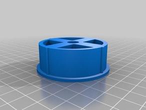 single double side spool holder 52mm spools 8mm rod 3d printer accessories 52mm 8mm filament holder one sided single single-sided single side single sided spool