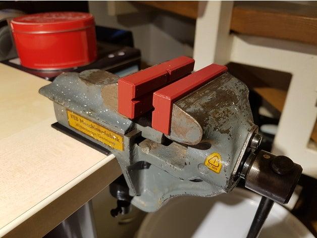 small vise jaws machine t