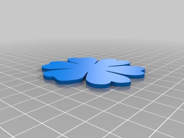 flower 2 scrap 3d printin