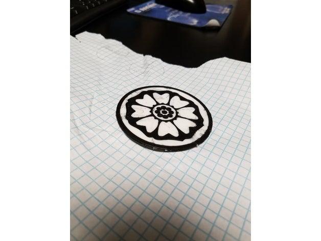 white lotus tile avatar l