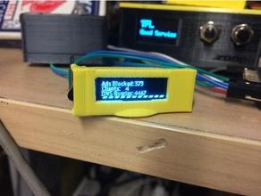 monochrome 128x32 i2c oled graphic display case electronics arduino arduino oled oled oled 128x32 raspberry pi oled ssd1306