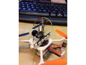 mini kwadcopter drone remake eachine qx70 camera mount 3d printer parts eachine qx70 qx70