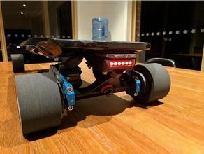torqueboard deck lights diy electric longboard electric skateboard esk8 torqueboards