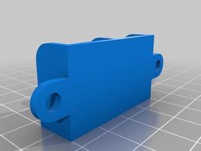 2x3 way wago holder 3d printer accessories 3-way holder wago