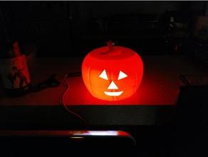 goofy pumpkin decor drprinting3d glowing pumpkin halloween halloween decoration halloween prop halloween props halloween pumpkin happy halloween jack-o-lantern pumpkin pumpkins