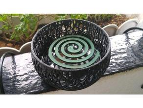voronoi bobina zanzara titolare all'aperto e giardino houdini zanzara bobina zanzara ornamento procedurali voronoi