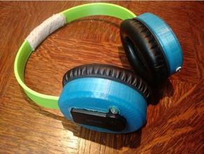bluetooth version 3d printed headphone music bluetooth bluetooth headset bluetooth module bluetooth receiver chinese headphone headset remix
