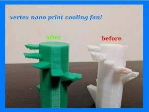 vertex nano part cooling fan 20 3d printer accessories cooling fan print cooling fan vertex k8600 vertex nano