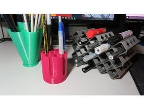 penholder 3 different styles organization desk drum office equipment office organization organization organizer pen pencil pencil holder penholder revolver drum