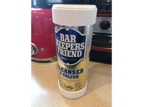 bar keepers friend top & bottom kitchen & dining 21 oz 21oz bar bar keepers bar keepers friend barkeepers bottom clean cleaning container cover dry friend keep dry kitchen liquid organization protection top