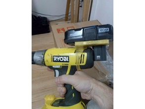 ryobi one+ drill piggyback 2nd battery holder parts ryobi ryobi 18v ryobi battery ryobi drill ryobi one