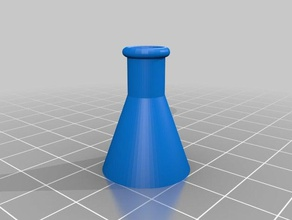 mini conical flask props chemistry conical flask flask hollow miniatures models science