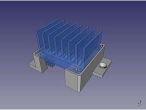 motor controller model robotics 3dmodel arduino bts7960b dc-motor dc motor dc motor controller model motor controller