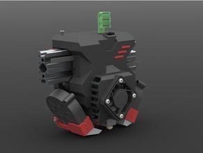 re-x carriage titan aero extruder re-d-bot 3d printer parts carriage d-bot direct drive extruder e3d e3d-titan e3d titan e3d titan aero extruder re-d-bot re-dev solidworks titan titan extruder x-carriage x carriage