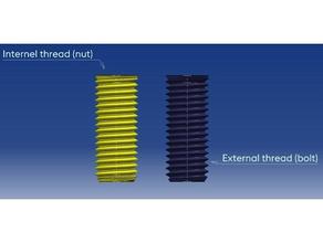metric screw threads iso 724 3d printing catia catpart iso iso 724 metric nut parametric screw thread threads