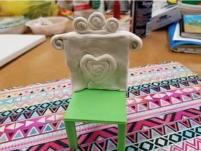 van gogh's chairs project model furniture art chair clay design gaugain painting van gogh vincent van gogh