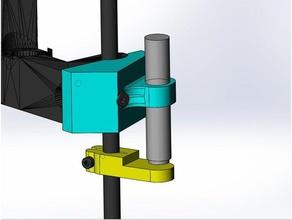 support capteur d port discoeasy200 cot droit 3d printer parts dagoma dagomaniack dagoma discoeasy200 dagoma discoeasy 200 de200 discoeasy discoeasy200 inductive sensor sensor
