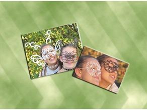 art masks accessories tutorial turning 2d art into 3d printed objects costume costumechallenge2017 2d 3d beginner beginner project beginnerproject cat cats choker chokers doodle doodle bug doodles draw print ears fairies fairy halloween halloween mask halloween costume henna henna designs  mask masks pixie scrolly tutorial zentangle
