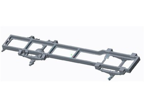 truck chassis 3d printing axle chassis front axle heavyvehicle leaf assemble leaf suspension leaf spring long vehicle rear axle truck vehicle vehicle frame vehicle chasis