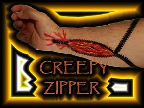 creepy zipper set fashion costumechallenge2017 creepy creepy zipper fexible filament flexible frankenstein halloween halloween costume halloween scary monsters scary zipper zombie zombies