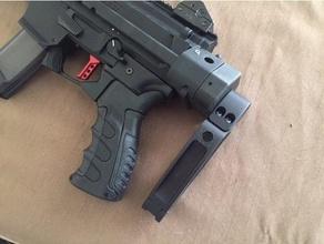 wrex's wtf adapter manitcore arms cz scorpion evo sliding stock sport & outdoors 9mm ar15 cz-usa cz evo cz evo usa evo scorpion stock