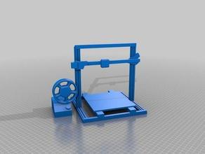 gnamp's 'printy mcprintface' drafting stage dmcg 3d printers
