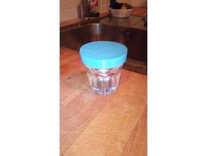 shot glas lid schnapsglas deckel kitchen & dining additive air cover deckel drinking flex food glas herbs kitchen lid schnapps schnaps shot snacks storage tight vacuum water