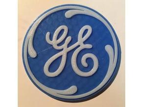 logo ge art 3d logo ge gelectric general electric logo logo ge