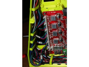 anet a8 cable organizer 3d printer accessories anet a8 anet a8 mods anet a8 upgrade anet case cable management case motherboard organizer wire wire clamp wire clip wire holder wire management wire organizer wiring