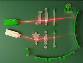 demonstration laser set geometrical optics physics & astronomy laser optics physic science