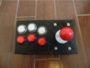 retro game controller diy 3d printing arcade game controller raspberry pi retro arcade retro gaming retro pie video game