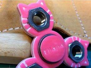 eliana spinner bearing caps toys & games customized multicolor