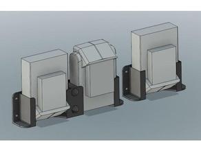 black&decker dewalt 20v battery holders tool holders & boxes battery battery holder black decker black decker dewalt wall mount