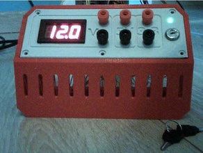 lab atx voltmeter key switch alim atx avec voltm tre et interrupteur cl 3d printing