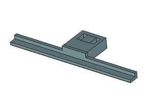 c270 bed clip - no bottom lip 3d printer accessories c270 c270 mount logitech c270 wanhao duplicator i3