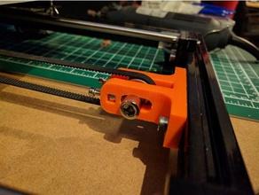 y belt tensioner hictop 3dp12 3d printer parts belt tensioner hictop hictop prusa i3 hictop tensioner hictop y