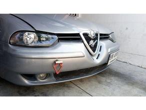 vintage alfa romeo grille badge automotive alfa alfa romeo badge romeo
