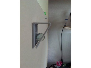memo clip holder organization clip holder memo mount notice paper sphere wallmount