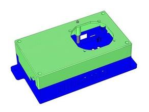 mks gen 14 case fan wifi module mount 3d printer parts 50mm radial fan fan mount mks mks-gen v14 mks gen mks gen v14 wifi mount